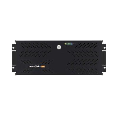 exacqVision 1608-102T-R4Z rackmount 4U hybrid recorder