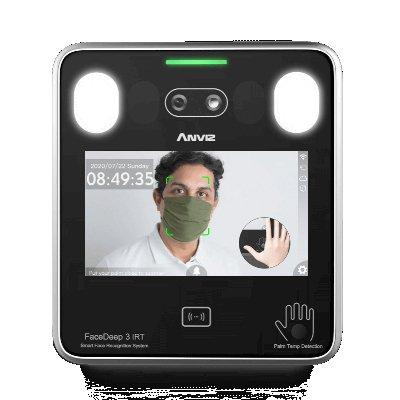 Anviz FaceDeep 3 IRT Smart Face Recognition Terminal with Body Temperature Detection