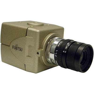Super high resolution camera from Fujitsu: CG-511PA1V for 24-hour operation