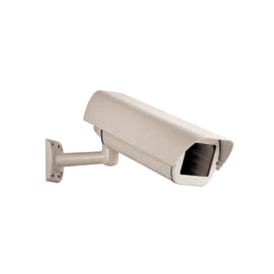 Ganz CHEB II 12/24 CCTV camera housing with snap on sunshield