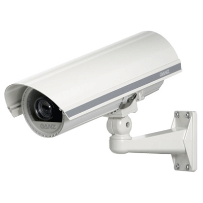 Ganz GH-12 CCTV camera housing with anti-reflective front glass