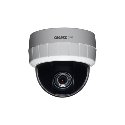 Ganz ZN-D1A PixelPro Series -  True Day / Night H.264 Indoor IP Dome Camera (VGA)