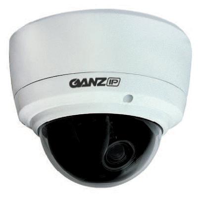 Ganz ZN-DT350VPE 550 TVL impact resistant H.264 colour IP dome camera