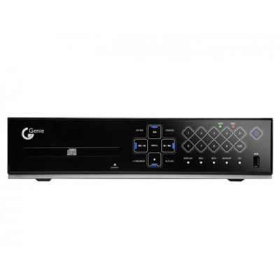 Genie CCTV Limited EDVRH8/1000 - 8 Channel Touch Panel Triplex DVR with DVD-RW