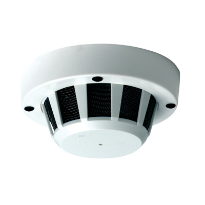 Genie CCTV Limited GC3HSMO colour smoke detector case with camera