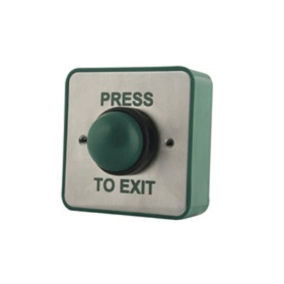 Genie CCTV Limited GD-REX - Exit button - surface mount stainless steel front, low profile plastic