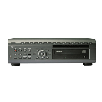 Genie CCTV Limited GDVRH608/2000 - 8 Channel Quadraplex DVR with DVD-RW (H.264 Compression)