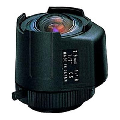Geutebruck 2.6AI-DC fix focal lens with direct controlled iris