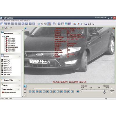 Geutebruck ANPR CCTV software