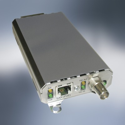 Geutebruck's CAM2IP video encoder is the smart choice for prudent network management