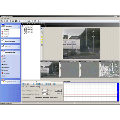 Geutebruck Camera Position Authentication CCTV software with sabotage and manipulation recognition