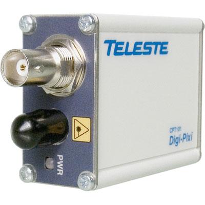 Geutebruck CPT-101 single channel composite video miniature fibre optic transmitter