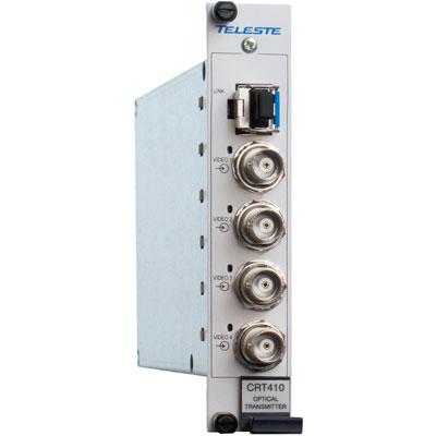 Geutebruck CRT-410M optical 4 channel video transmitter