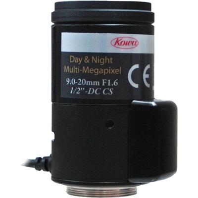 Geutebruck G-Lens/MPVF9-20DC-1/2-DN DC controlled aspherical megapixel vario focal  lens