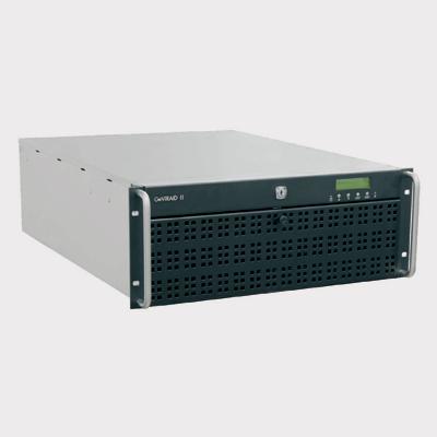 Geutebruck GeViRAID II/16 digital video recorder accessory with network messages in case of an error