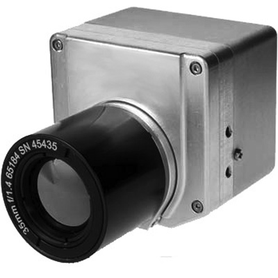 Geutebruck GTIC-HR/35mm/9Hz thermal imaging camera with 35mm focal length