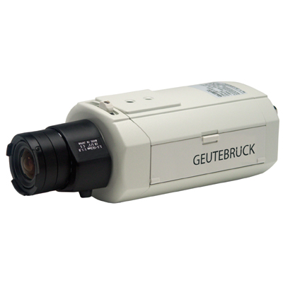 Geutebruck GVC-331/DC extreme high-resolution colour camera with digital signal processing.