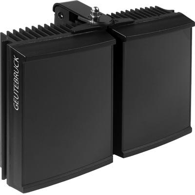 Geutebruck Helios/L-IR-10 CCTV camera lighting with PSU-integrated twilight switch