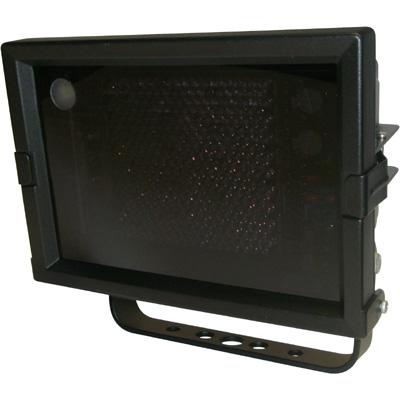 Geutebruck Helios-WIDE/50° infrared illuminator with integrated twilight switch.