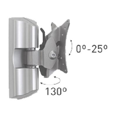 Geutebruck TFT/WB/2M -  an ultra-modern wall mount for CCTV TFT monitors