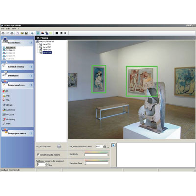 Geutebruck's new 'VA-Missing' software protects exhibits in museums and galleries