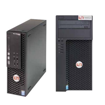 Salient Systems GuardStation Quad Monitor Client Workstation