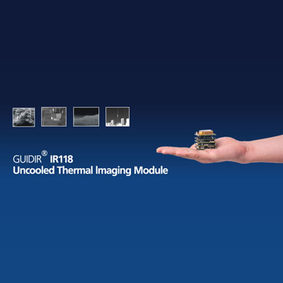 Guide Infrared GUIDIR IR118 uncooled thermal imaging module with FPGA image processing platform