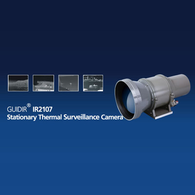 Guide Infrared GUIDIR IR2107 long range thermal surveillance camera with high resolution imaging performance