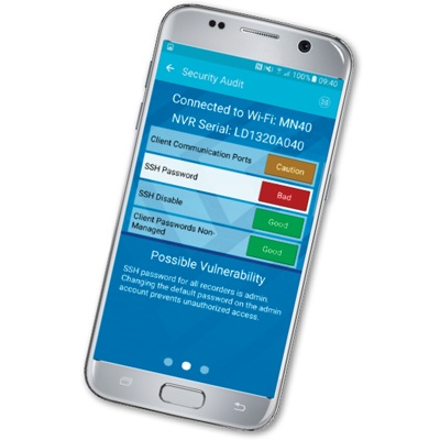 March Networks GURU Smartphone App CCTV software