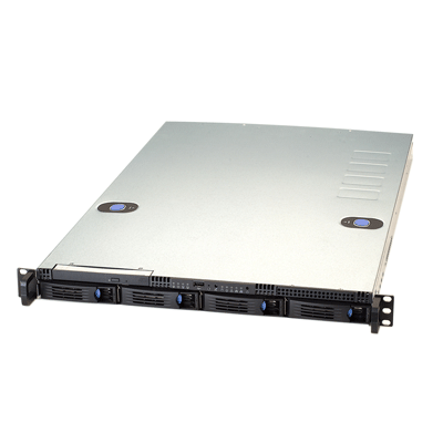 GVD M610 network video recorder with unique Time Sector Engine (TSE) for best video read-write performance