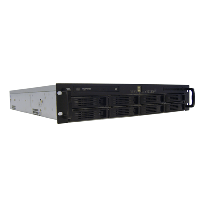GVD M620 network video recorder for mission critical applications