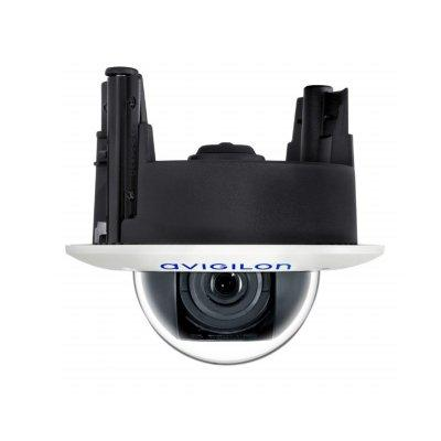 Avigilon 8.0-H4A-DC1(-B) in-ceiling dome camera with Self-Learning Video Analytics