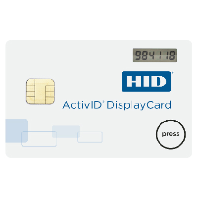 HID ActivID® DisplayCard Tokens convenient one-time password solution