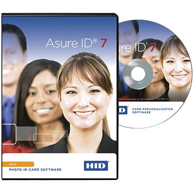 HID Asure ID 7 Solo card personalisation software