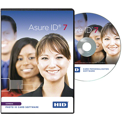 HID Asure ID Express 7 card personalisation software
