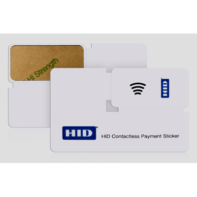 HID Global launches a complete family of secure Contactless Payment and Identification Stickers