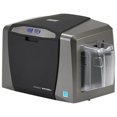 HID DTC1250e ID card printer and encoder