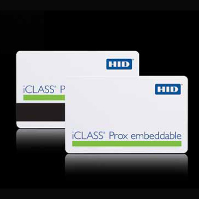 HID iCLASS Prox Embeddable combination contactless smart card and proximity card