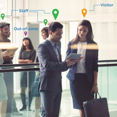 HID Building Occupancy Management an HID Location Services Solution