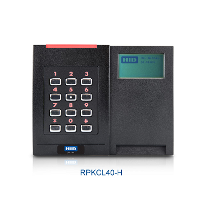 HID RPKCL40-P pivCLASS readers for limited security areas