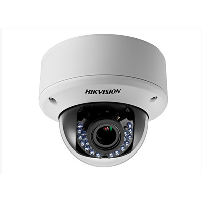 Hikvision DS-2CE56D5T-(A)VPIR3ZH HD1080P WDR motorised VF vandal Proof IR dome camera