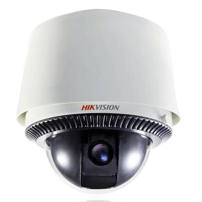 Hikvision DS-2DF1-672 dome camera with IP66 protection