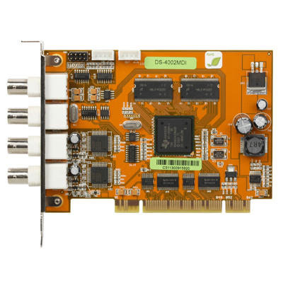 Hikvision DS-4002MDI PCI matrix decode board with 2-channel audio and video outputs