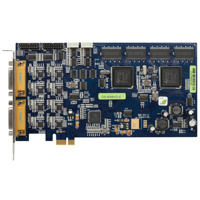 Hikvision DS-4008HCI/HCI-E PCI/PCI-E compression board up to real-time 4CIF display resolution