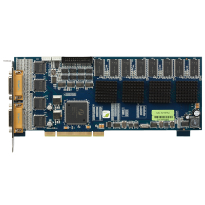 Hikvision DS-4016HCI PCI Compression Board Up to real-time 4CIF display resolution