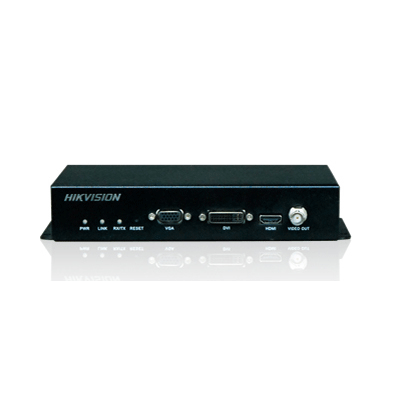 Hikvision DS-6401HDI video server with exception alarm handling