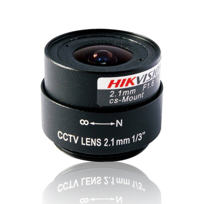 Hikvision TF0216 CCTV camera lens with fixed Iris and fixed focus lens