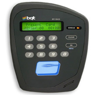 BQT Solutions BT823/843W mifare contactless smart card access control reader with keypad