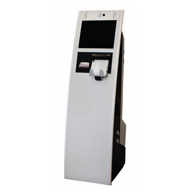 Honeywell Access Systems LobbyWorks™ floor standing kiosk