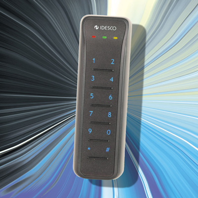 Idesco Access 8 CDpin improves security in access control by providing pin code identification